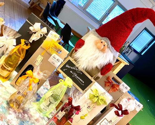 Weihnachtsgeschenke in der Vinothek Matt