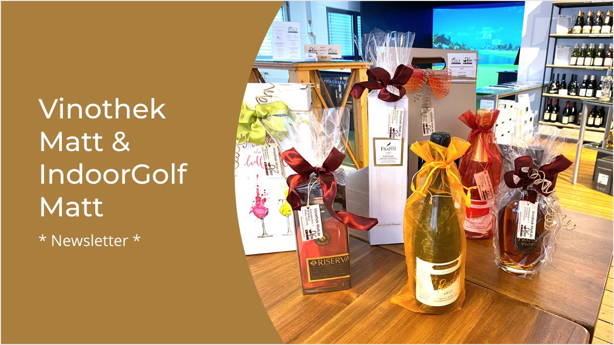 Wein- und Golf Newsletter